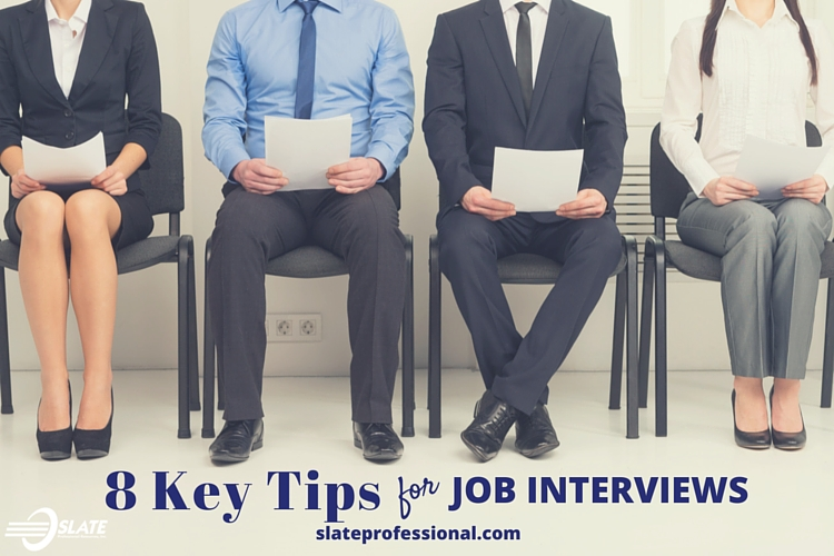 8 Key Tips for Job Interviews